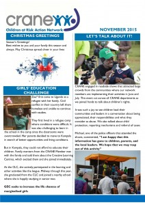 CRANE Newsletter_Christmas edition_Page_1